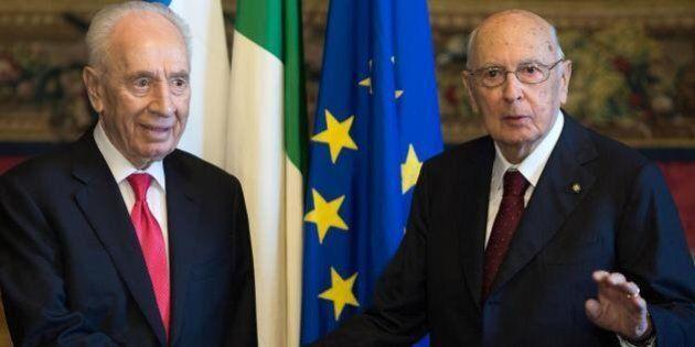 Quando Shimon Peres chiese a Napolitano di mediare per il disgelo con