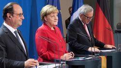 Al vertice tra Merkel, Hollande e Juncker si parla di Brexit e crescita. Renzi il grande