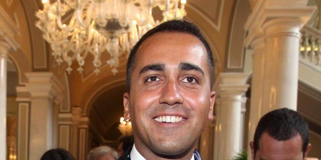 Luigi Di Maio, vice presidente della Camera dei Deputati, al suo arrivo al