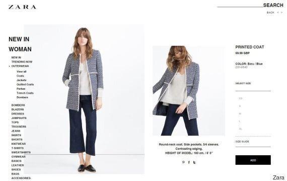 Questo cappotto di Zara sta facendo impazzire le