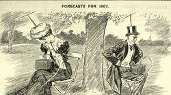 Questa vignetta del 1906 aveva già previsto come la tecnologia ci avrebbe resi