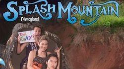 Questa ragazza ha scelto Disneyland per fare coming