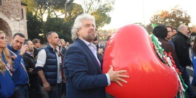 Beppe Grillo lancia manifestazione M5s: