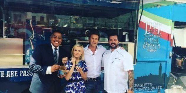 La nuova vita del principe Emanuele Filiberto di Savoia: street food sul furgone a Los