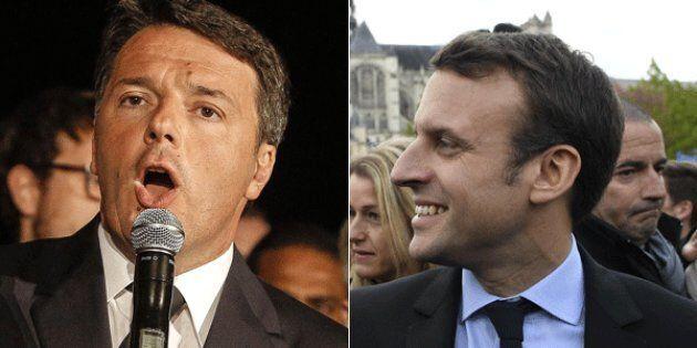 Emmanuel Macron scrive a Matteo Renzi: