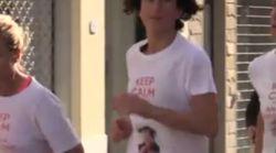 Agnese Renzi alla maratona dopo le primarie:
