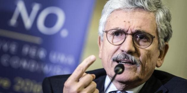 Massimo D'Alema stronca il governo Gentiloni: