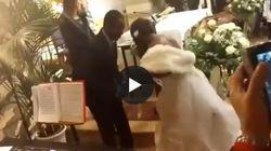 Il giorno più felice di Emmanuel e Chimiary: canti e balli in Chiesa per le