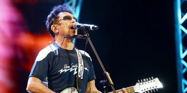 Edoardo Bennato al concerto del Primo maggio a piazza San Giovanni - foto di Gloria