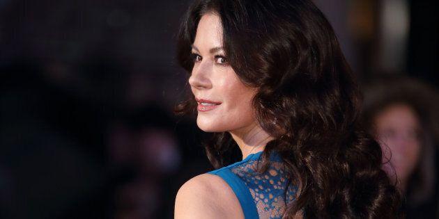 LONDON, ENGLAND - JANUARY 26: Catherine Zeta-Jones attends 'Dad's Army' World Premiere on January 26,...
