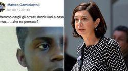 """""""Lo stupratore di Rimini? Potremmo dargli gli arresti domiciliari a casa della Boldrini, magari gli mette il"""