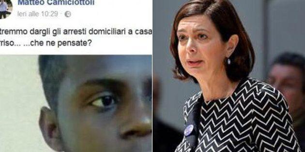 """""""Lo stupratore di Rimini? Potremmo dargli gli arresti domiciliari a casa della Boldrini, magari gli mette..."""