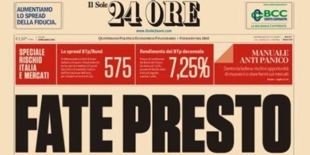 Sole 24 ore, lo scandalo del Sole è lo specchio della crisi del capitalismo italiano e della perdita...