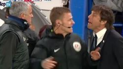Eccesso di foga, Conte e Mourinho vengono quasi alle mani: deve intervenire il quarto uomo per