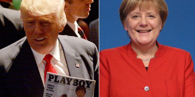 La tempesta Stella ritarda l'incontro Trump-Merkel. Angela si prepara leggendo l'intervista di The Donald...