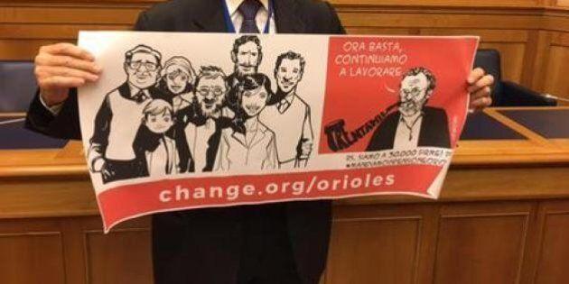 Riccardo Orioles vive in povertà da mesi, aspettando burocrazia per legge Bacchelli. Facciamo