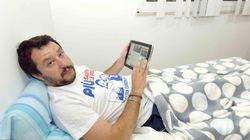 Reportage di Matteo Salvini su Libero dal Cara di Mineo:
