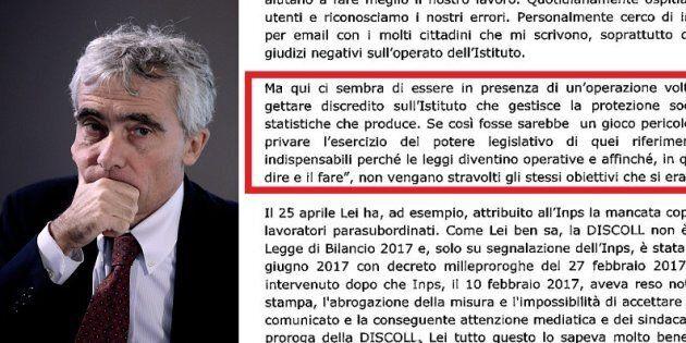 La lettera di Tito Boeri alla Commissione Lavoro della Camera: