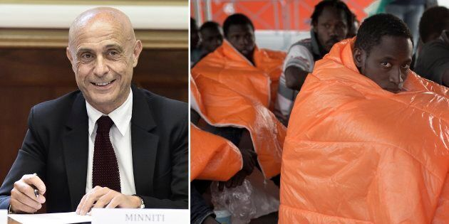 Il commissario Ue per i migranti Dimitris Avramopoulos: