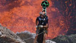 Esplorare l'interno di un vulcano attivo oggi è possibile grazie a Google