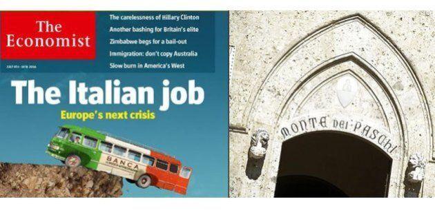 Economist: dalle banche italiane la prossima crisi in Europa. Sì ad aiuti pubblici e modifiche a bail