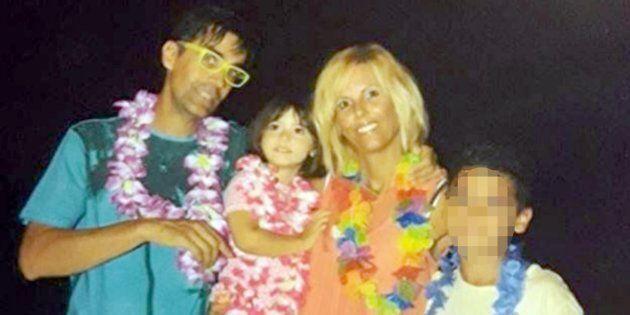Marco e Francesca, i genitori della piccola
