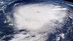 Irma dallo spazio, Paolo Nespoli fotografa