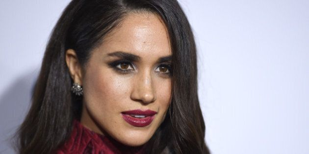 Meghan Markle arrives at ELLE's 6th annual Women in Television celebration at the Sunset Tower Hotel...