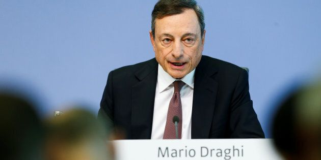 European Central Bank (ECB) President Mario