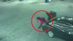 Donna rapita apre il baule dove era chiusa e si lancia al volo