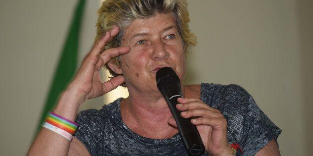 03/07/2017 Pistoia, CGIL incontri 2017, la segretaria nazionle Susanna Camusso durante