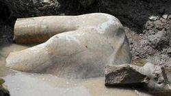 La statua gigante di Ramses II non è Ramses
