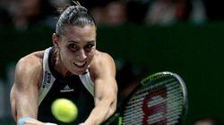 L'annuncio su Facebook: l'ex tennista Flavia Pennetta è