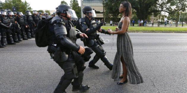 Questa foto sul movimento Black Lives Matter in America dovrebbe essere vista da tutto il