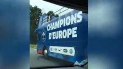 Il bus della Francia era pronto per la