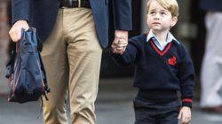 Anche se i reali inglesi non usano un cognome, a George ne è stato dato uno per frequentare