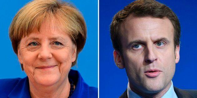 Macron omaggia la Merkel con il suo primo viaggio all'estero da