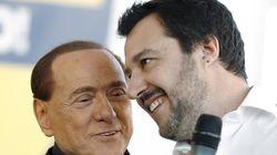 Berlusconi a Salvini: