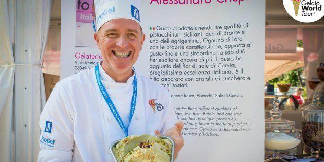 Il gelato più buono del mondo è italiano e si fa a Spoleto: Alessandro Crispini vince il Gelato World