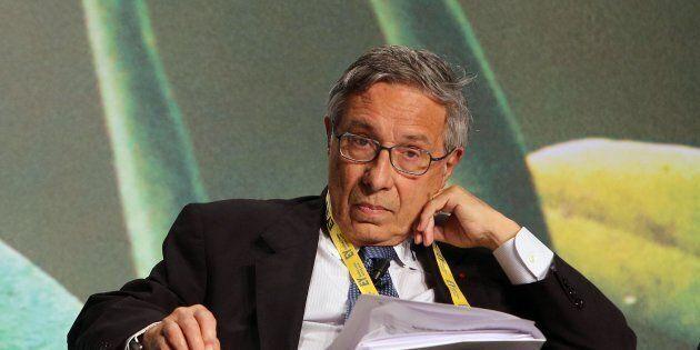 Franco Bassanini nel corso dell'EY Strategic Growth Forum, Roma, 16 aprile 2015. L'area del Mediterraneo...