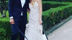 Matrimonio top secret per Luca Toni e Marta Cecchetto. Ma le foto degli invitati svelano tutti i dettagli fin'ora