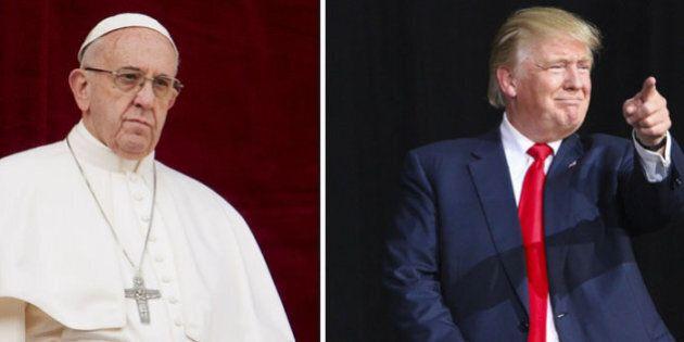 Donald Trump in Italia a maggio per il G7 incontrerà il Papa? L'uomo nero, il muro e il cardinale, tutti...