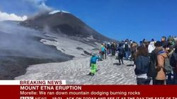L'Etna, l'eruzione e gli allarmismi ingiustificati. Nessuna