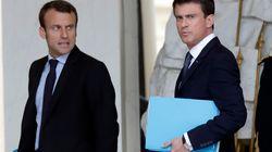 Valls sul carro di Macron.