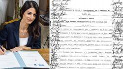 Questo documento rivela il vero accordo tra la Raggi e la Casaleggio