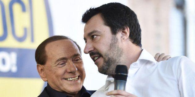 Salvini propone a Berlusconi la federazione il giorno dopo che Silvio è (ri)sceso in campo. I movimenti...