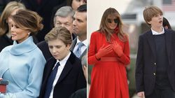 Barron Trump cresce a vista
