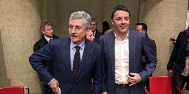 Massimo D'Alema e Matteo Renzi litigano su Telecom e Banca