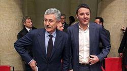 Renzi e D'Alema litigano su Telecom e Banca