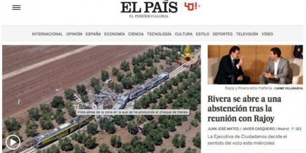 Scontro treni in Puglia: la notizia della tragedia apre i siti dei media internazionali